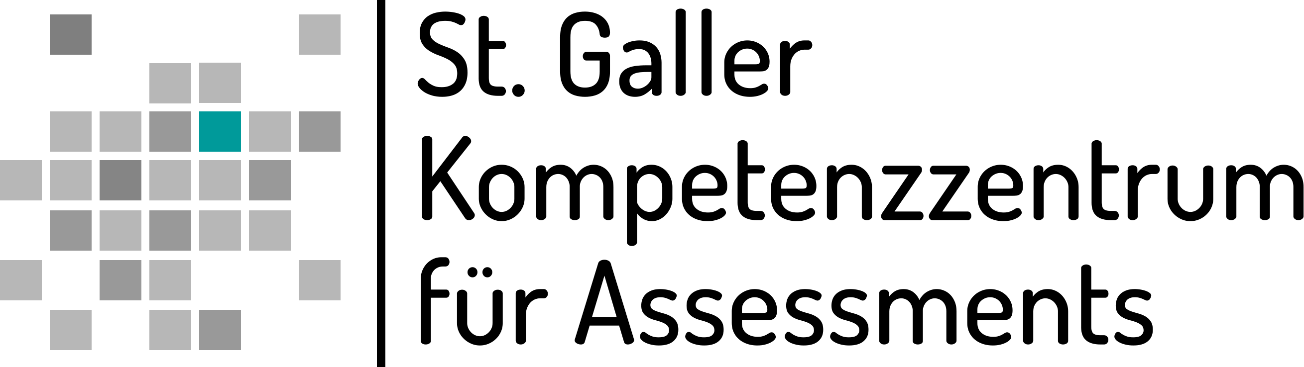 Logo St. Galler Kompetenzzentrum für Assessments